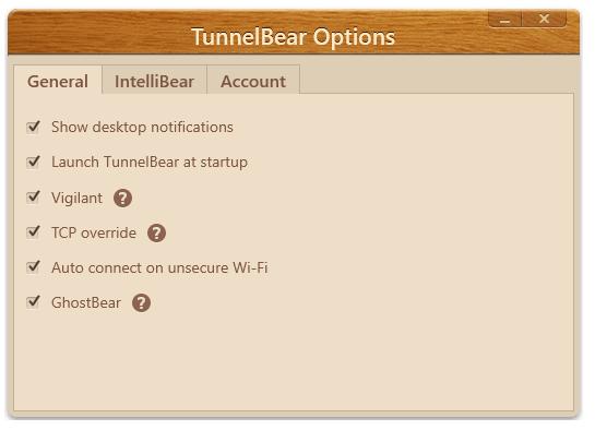 tunnelbear-settings