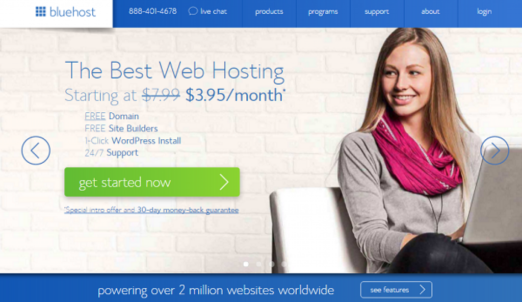 Bluehost-web-hosting-provider-user-reviews