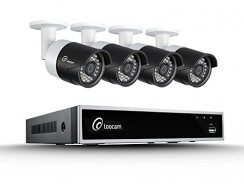 Cameras & Photos. Security & Safety. Best Deals & User Reviews: Loocam 8CH 720P HD-TVI Video DVR Security Camera System 4×1.0 MP(1280X720P) Surveillance Camera Kit 1TB Hard Drive, Motion Detection & Email Alert, Intuitive Android