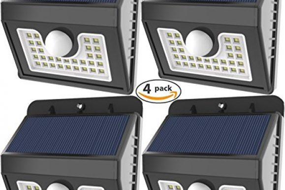 Accessories. Security & Safety. Best Deals & User Reviews: Vivii 30 led Solar lights, Super Bright LED Security Lighting Outdoor Motion Sensor Solar Spotlight flood Lighting for Garden, Patio, Fencing, and Pathway – 4 PACK